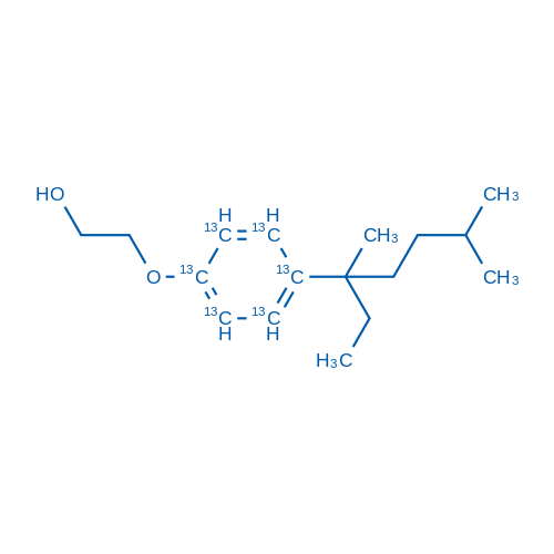 4-(3,6-Dimethyl-3-heptyl)phenol monoethoxylate-ring-13C6