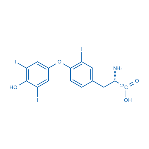3,3',5'-Triiodo-L-thyronine-13C6 solution