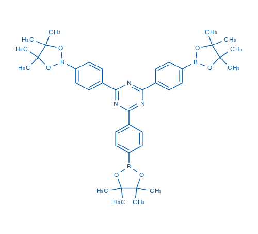 2,4,6-Tris(4-(4,4,5,5-tetramethyl-1,3,2-dioxaborolan-2-yl)phenyl)-1,3,5-triazine