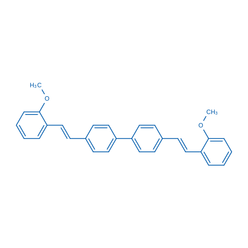 4,4-Bis(2-methoxystyryl)biphenyl