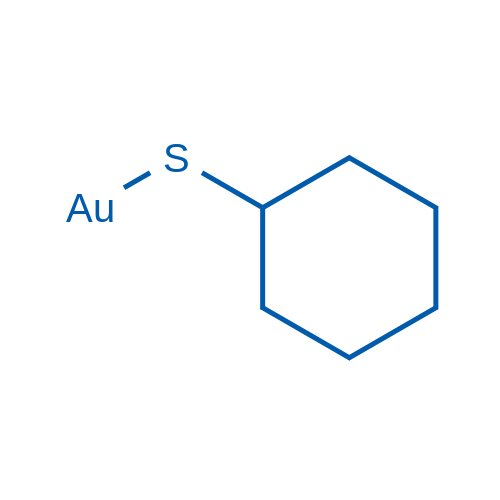 (Cyclohexylthio)gold
