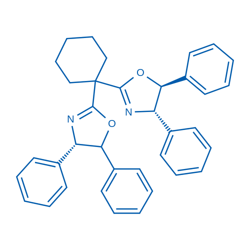 rel-(4S,4'S,5S,5'RS)-2,2'-(Cyclohexane-1,1-diyl)bis(4,5-diphenyl-4,5-dihydrooxazole)