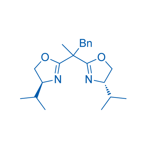 (4S,4'S)-2,2'-(1-Phenylpropane-2,2-diyl)bis(4-isopropyl-4,5-dihydrooxazole)