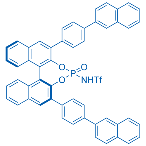 N-((11BS)-2,6-bis(4-(naphthalen-2-yl)phenyl)-4-oxidodinaphtho[2,1-d:1',2'-f][1,3,2]dioxaphosphepin-4-yl)-1,1,1-trifluoromethanesulfonamide