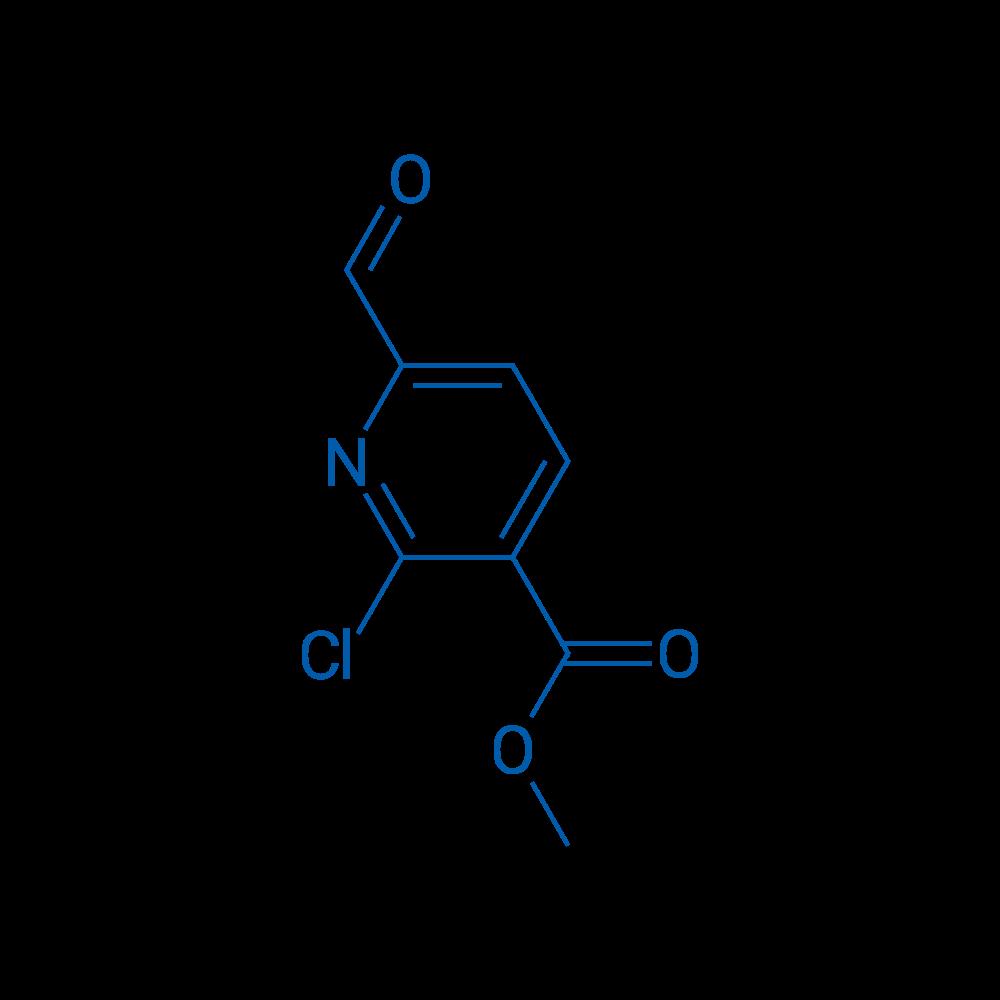 Methyl 2-chloro-6-formylnicotinate