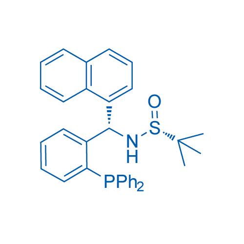 (R)-N-((S)-(2-(diphenylphosphaneyl)phenyl)(naphthalen-1-yl)methyl)-2-methylpropane-2-sulfinamide