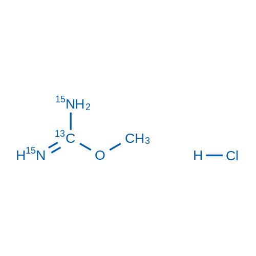 O-Methylisourea-13C,15N2 hydrochloride
