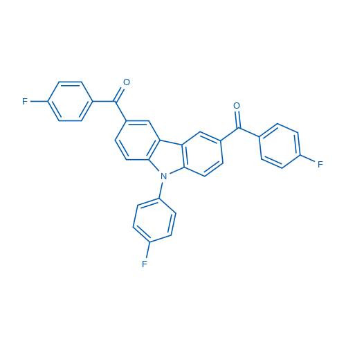 (9-(4-Fluorophenyl)-9H-carbazole-3,6-diyl)bis((4-fluorophenyl)methanone)