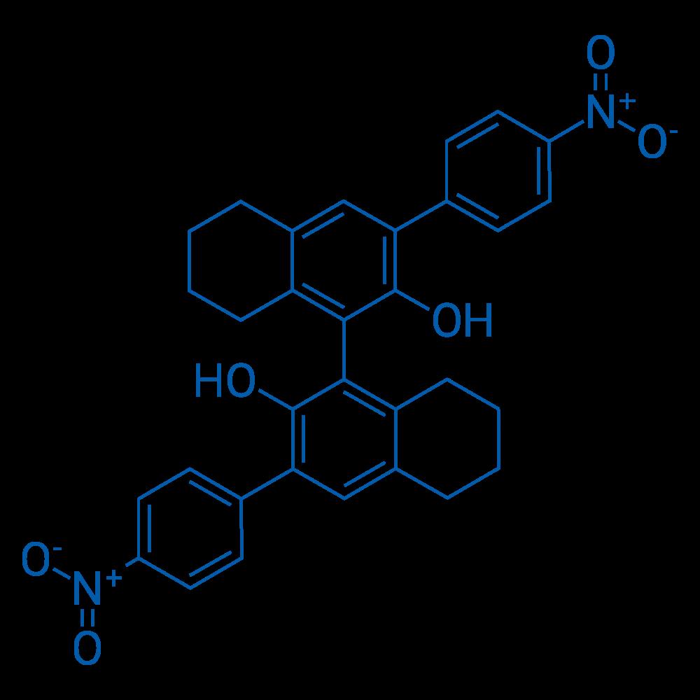 (S)-3,3'-Bis(4-nitrophenyl)-5,5',6,6',7,7',8,8'-octahydro-[1,1'-binaphthalene]-2,2'-diol