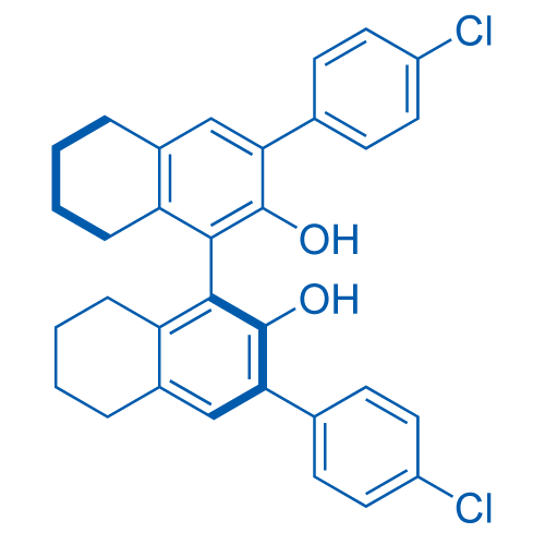 (S)-3,3'-Bis(4-chlorophenyl)-5,5',6,6',7,7',8,8'-octahydro-[1,1'-binaphthalene]-2,2'-diol