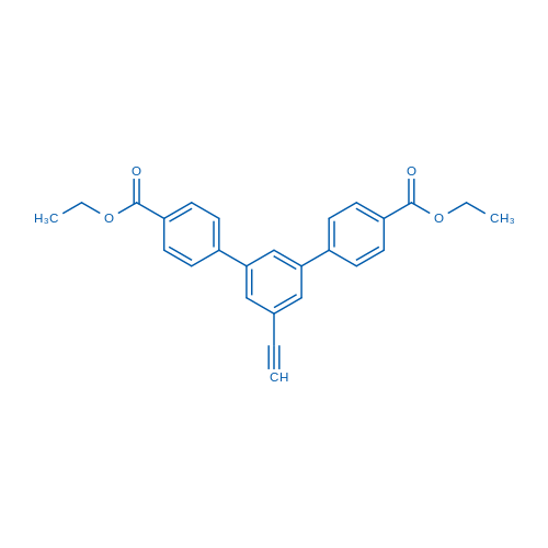 Diethyl 5'-ethynyl-[1,1':3',1''-terphenyl]-4,4''-dicarboxylate
