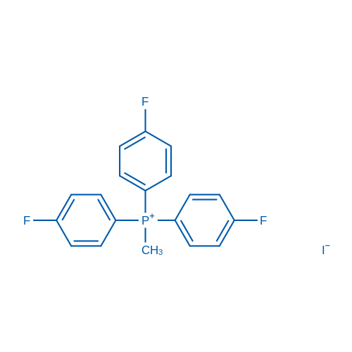 Methyltris(4-fluorophenyl)phosphonium iodide