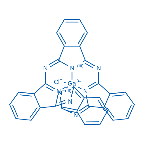 Gallium(iii)-phthalocyanine chloride