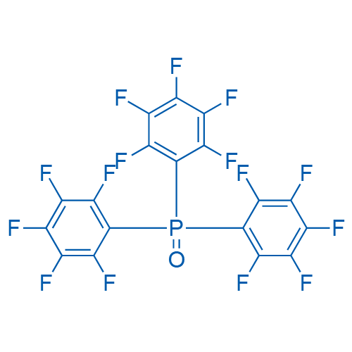 1-Bis(2,3,4,5,6-pentafluorophenyl)phosphoryl-2,3,4,5,6-pentafluorobenzene