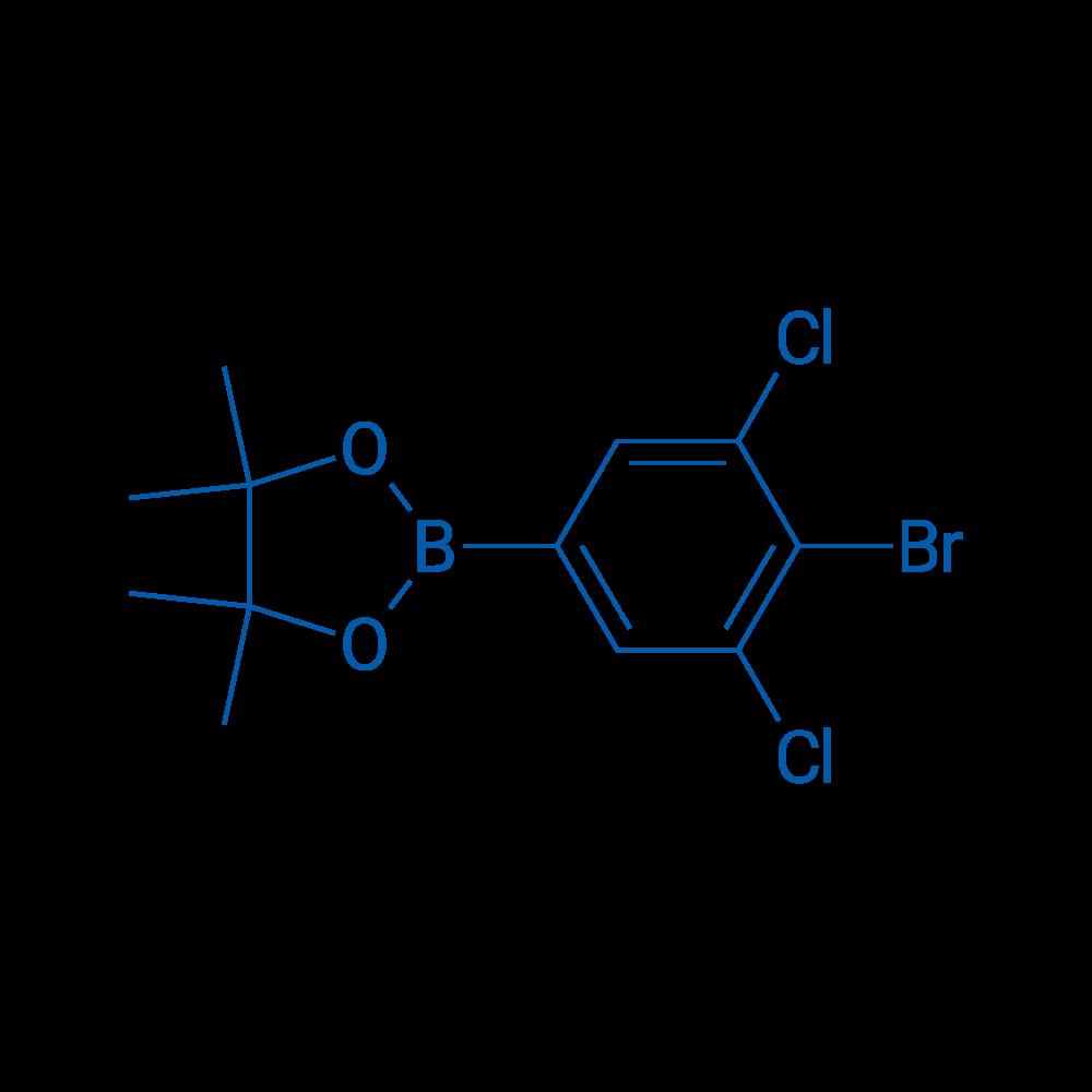 2-(4-Bromo-3,5-dichlorophenyl)-4,4,5,5-tetramethyl-1,3,2-dioxaborolane