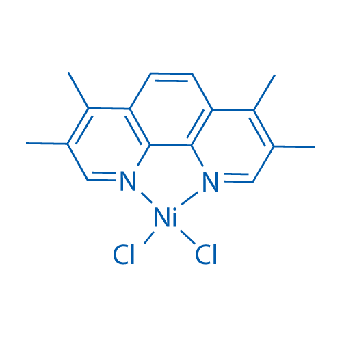Dichloro(3,4,7,8-tetramethyl-1,10-phenanthroline-κN1,κN10)-Nickel