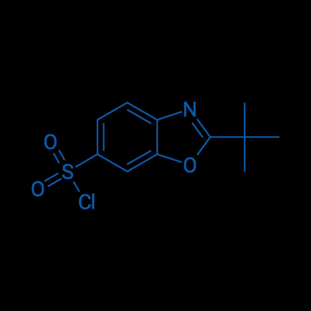 2-(tert-Butyl)benzo[d]oxazole-6-sulfonyl chloride