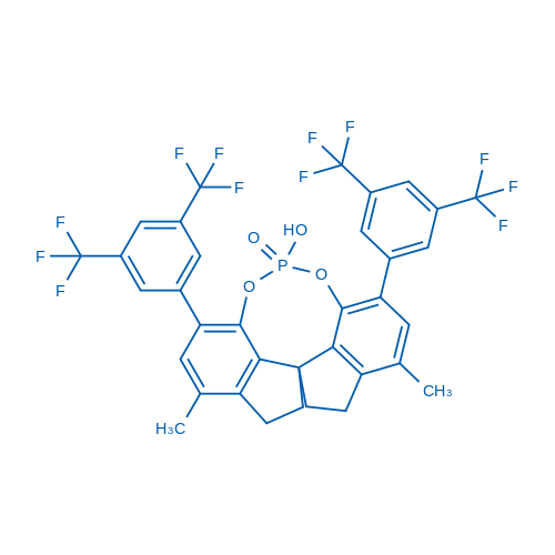 (11AS)-1,10-bis(3,5-bis(trifluoromethyl)phenyl)-12-hydroxy-3,8-dimethyl-4,5,6,7-tetrahydrodiindeno[7,1-de:1',7'-fg][1,3,2]dioxaphosphocine 12-oxide