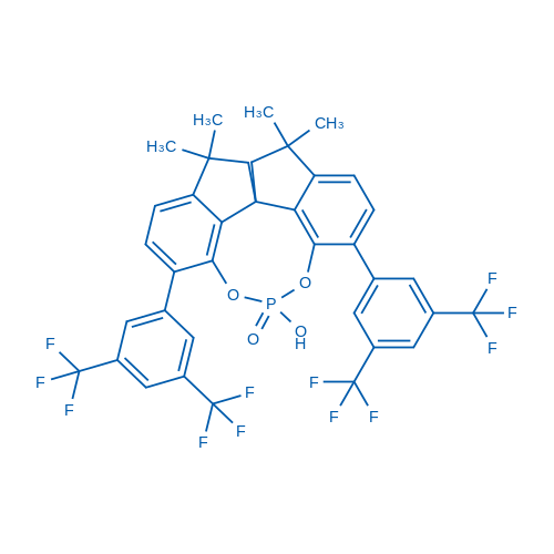 (11AS)-1,10-bis(3,5-bis(trifluoromethyl)phenyl)-12-hydroxy-4,4,7,7-tetramethyl-4,5,6,7-tetrahydrodiindeno[7,1-de:1',7'-fg][1,3,2]dioxaphosphocine 12-oxide