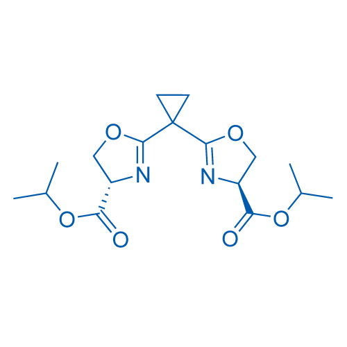 (4S,4'S)-Diisopropyl 2,2'-(cyclopropane-1,1-diyl)bis(4,5-dihydrooxazole-4-carboxylate)