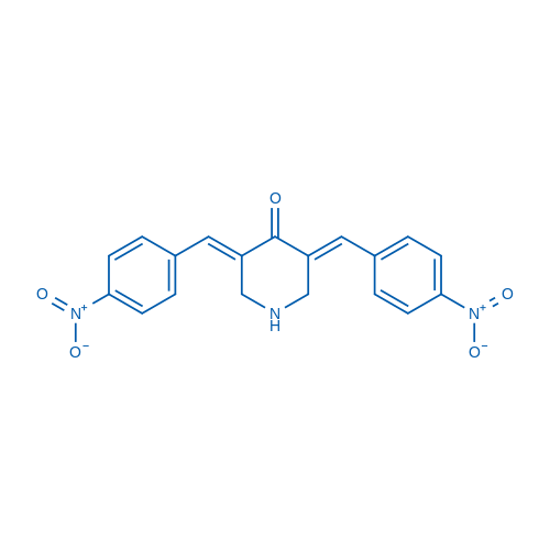 (3E,5E)-3,5-Bis(4-nitrobenzylidene)piperidin-4-one