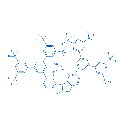 (11AS)-12-hydroxy-1,10-bis(3,3'',5,5''-tetrakis(trifluoromethyl)-[1,1':3',1''-terphenyl]-5'-yl)-4,5,6,7-tetrahydrodiindeno[7,1-de:1',7'-fg][1,3,2]dioxaphosphocine 12-oxide