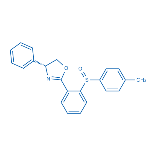 (R)-4-Phenyl-2-(2-((S)-p-tolylsulfinyl)phenyl)-4,5-dihydrooxazole