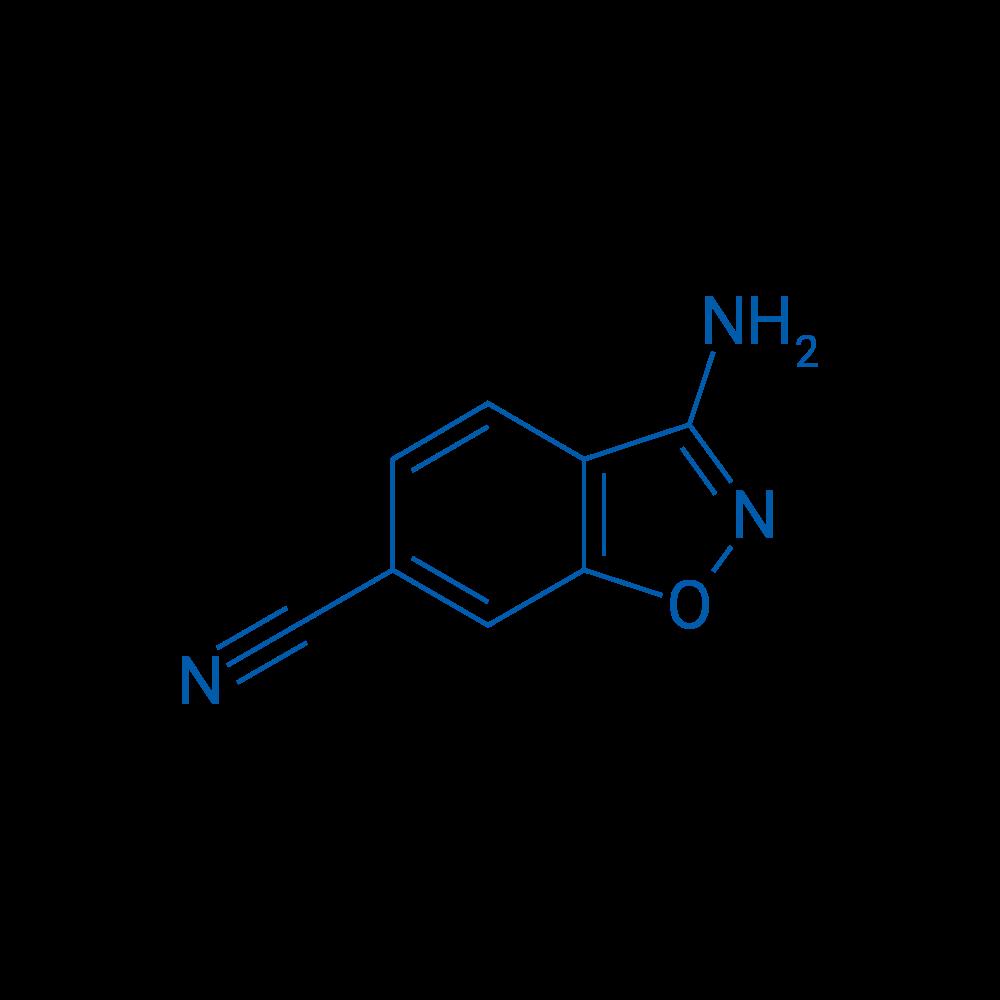 3-Aminobenzo[d]isoxazole-6-carbonitrile