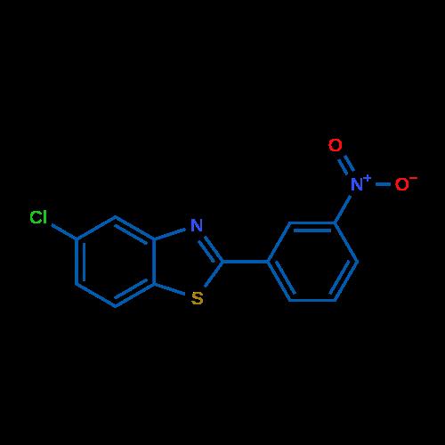 5-Chloro-2-(3-nitrophenyl)benzo[d]thiazole
