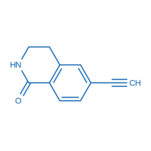 6-Ethynyl-3,4-dihydroisoquinolin-1(2H)-one