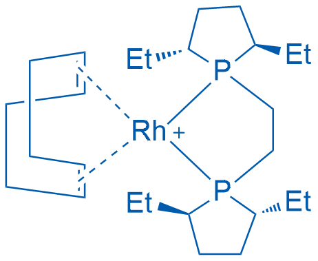 1,2-Bis((2R,5R)-2,5-diethylphospholano)ethane(cyclooctadiene)rhodium(I)