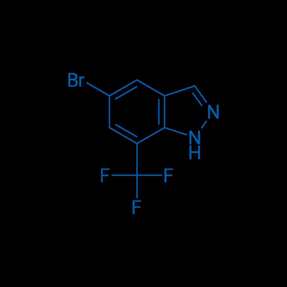 5-Bromo-7-(trifluoromethyl)-1H-indazole