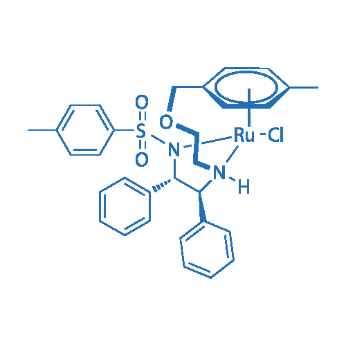N-[(1S,2S)-1,2-Diphenyl-2-(2-(4-methylbenzyloxy)ethylamino)-ethyl]-4-methylbenzene sulfonamide(chloro)ruthenium(II)