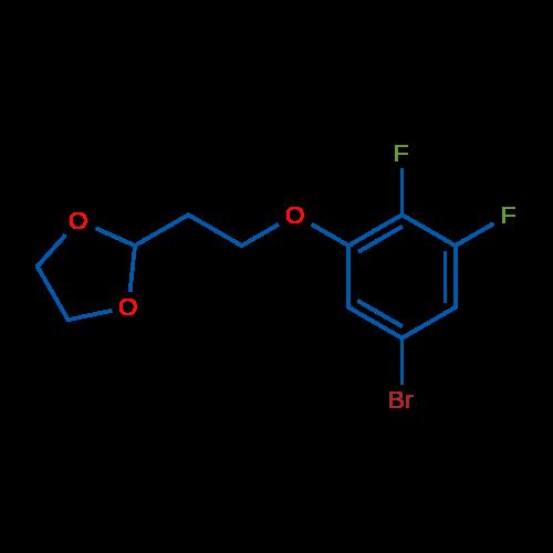 2-(2-(5-Bromo-2,3-difluorophenoxy)ethyl)-1,3-dioxolane