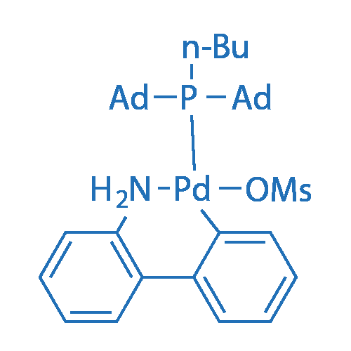 Methanesulfonato(diadamantyl-n-butylphosphino)-2'-amino-1,1'-biphenyl-2-yl)palladium(II)