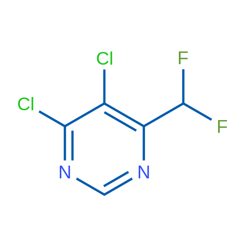 4,5-Dichloro-6-(difluoromethyl)pyrimidine