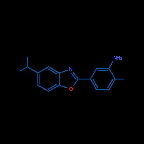 5-(5-Isopropylbenzo[d]oxazol-2-yl)-2-methylaniline