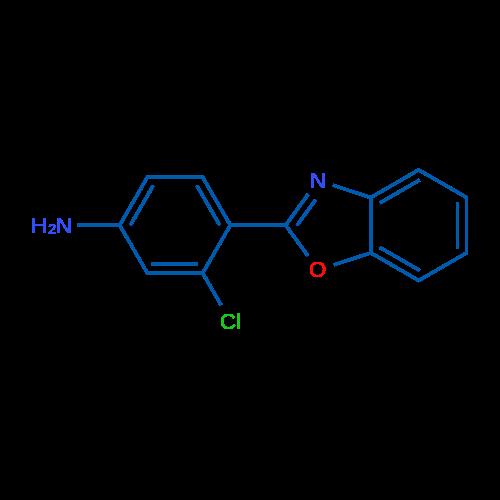 4-(Benzo[d]oxazol-2-yl)-3-chloroaniline