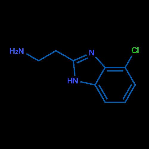 2-(4-Chloro-1H-benzo[d]imidazol-2-yl)ethanamine