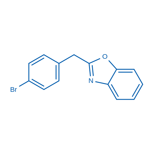 2-(4-Bromobenzyl)benzo[d]oxazole
