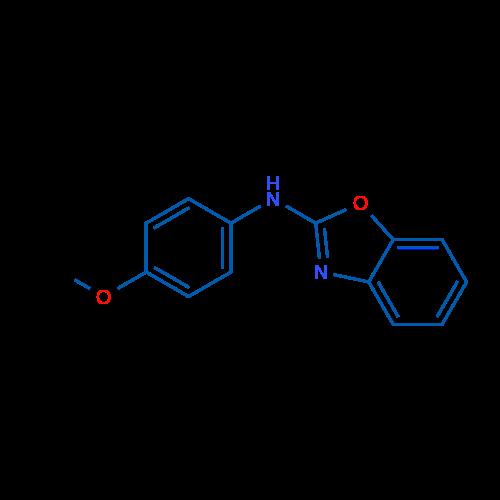 N-(4-methoxyphenyl)benzo[d]oxazol-2-amine