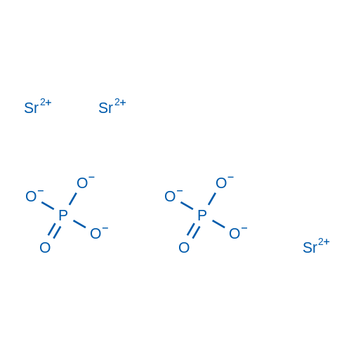 Strontium phosphate