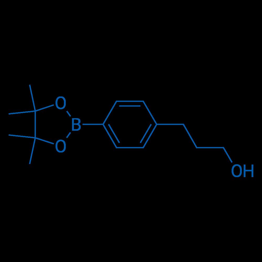 3-(4-(4,4,5,5-Tetramethyl-1,3,2-dioxaborolan-2-yl)phenyl)propan-1-ol