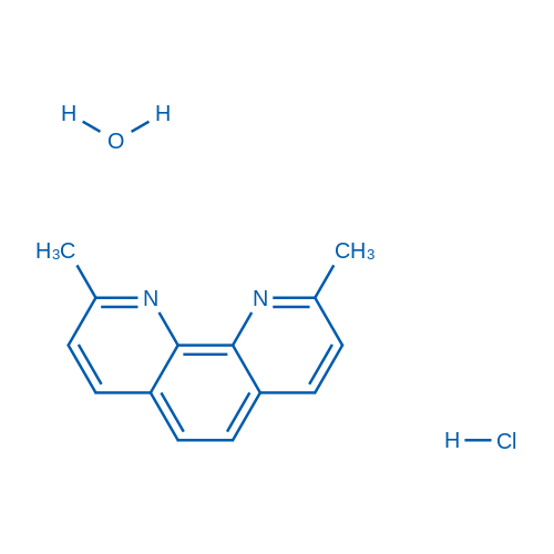 2,9-Dimethyl-1,10-phenanthroline hydrochloride xhydrate