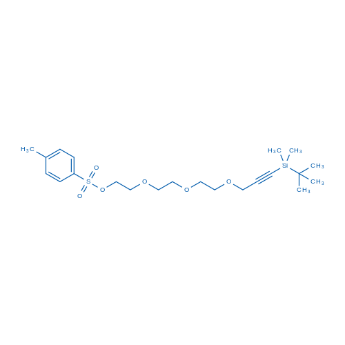 13,13,14,14-Tetramethyl-3,6,9-trioxa-13-silapentadec-11-yn-1-yl 4-methylbenzenesulfonate