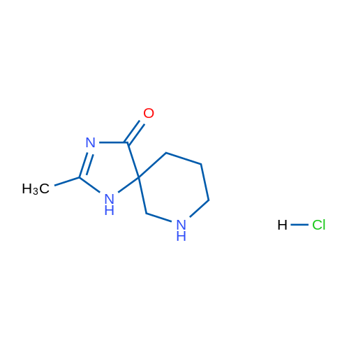 2-Methyl-1,3,7-triazaspiro[4.5]dec-2-en-4-one hydrochloride
