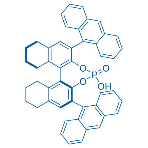 (S)-3,3'-Bis(9-anthracenyl)-5,5',6,6',7,7',8,8'-octahydro-1,1'-bi-2-naphthyl Hydrogen Phosphate