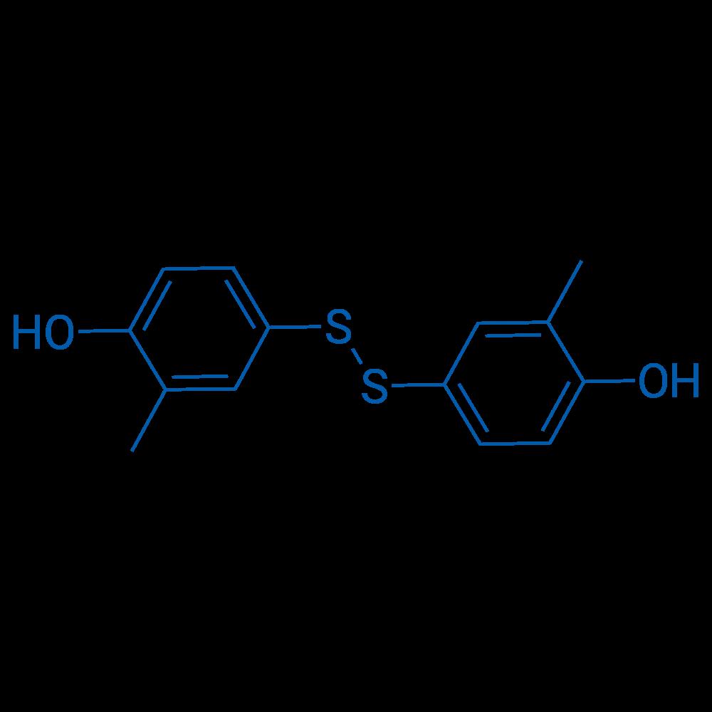 4,4'-Disulfanediylbis(2-methylphenol)