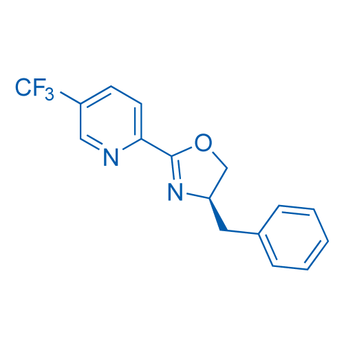 (R)-4-Benzyl-2-(5-(trifluoromethyl)pyridin-2-yl)-4,5-dihydrooxazole