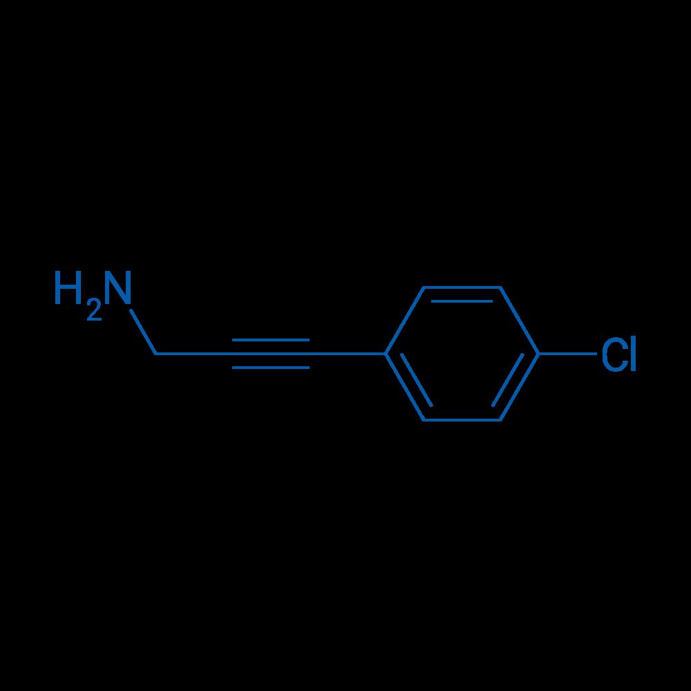 3-(4-Chlorophenyl)prop-2-yn-1-amine